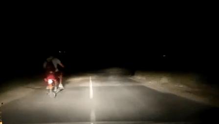 В Георгиевске задержан нетрезвый мотоциклист