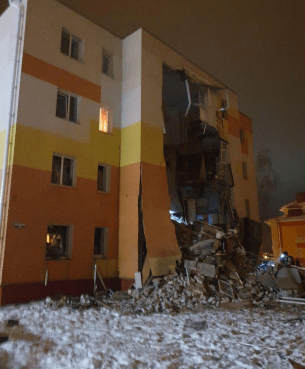 Недалеко от Белгорода в жилом доме произошел взрыв бытового газа