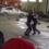 В Подольске у ресторана посетитель устроил бои без правил с охранником