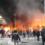 В Париже крупный пожар в районе Лионского вокзала