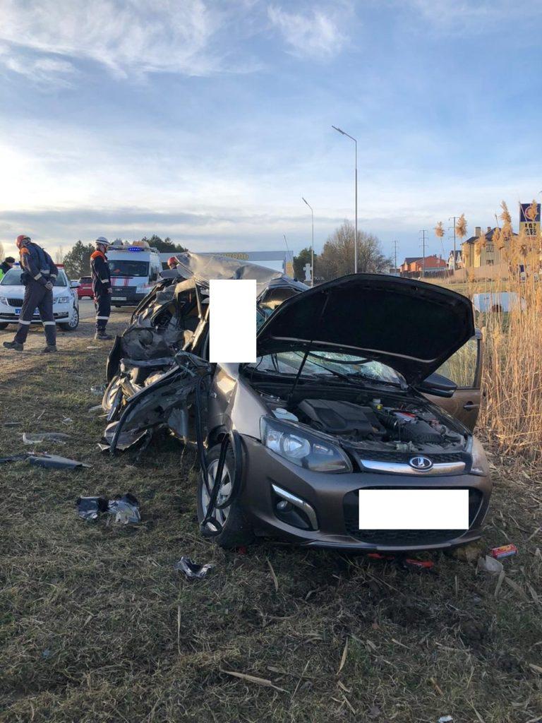 Водитель «Гранты» погиб в ДТП на трассе «Ставрополь – Аэропорт»