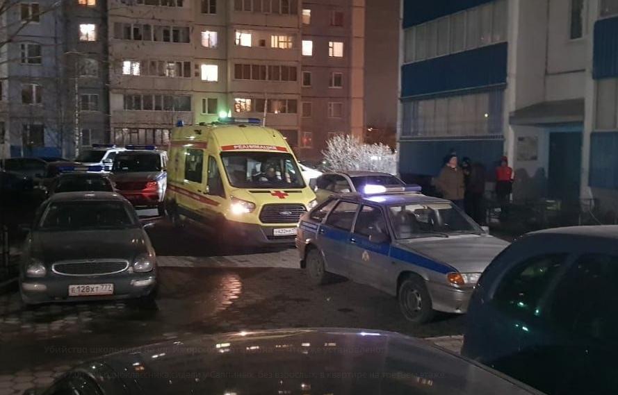 Убийство школьника в Санкт-Петербурге