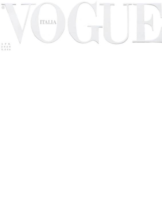 Новый номер Vogue вышел с пустой обложкой из-за коронавируса