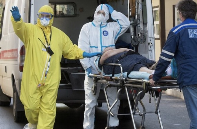 Россия на третьем месте в мире по числу заболевших коронавирусом