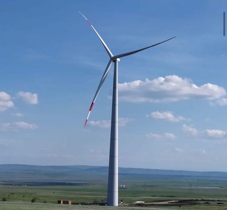 Первую ветроустановку собрали в Кочубеевском районе Ставрополья