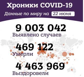 Вечерние хроники коронавируса в России и мире за 22 июня 2020 года