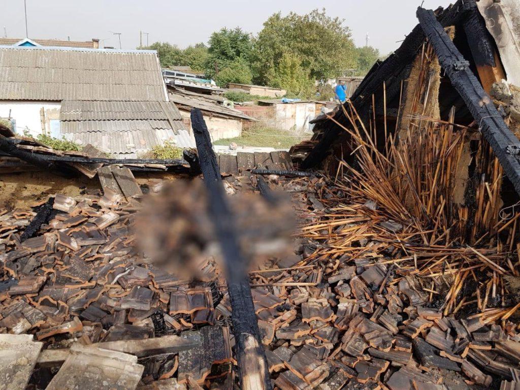 Труп мужчины обнаружили в сгоревшей хозпостройке на Ставрополье
