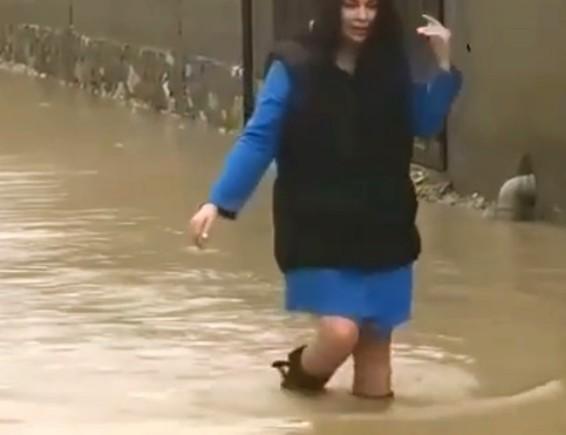 Ради любимого девушка из Нальчика прошла через «реку»