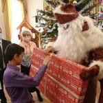 Губернатор Ставрополья попробовал на себе роль Деда Мороза