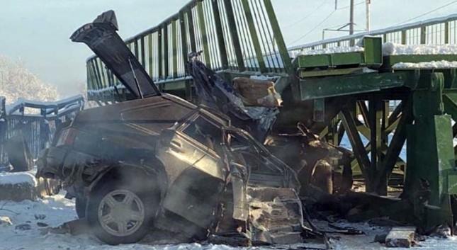 В Дагестане погибли 2 человека в результате обрушения моста