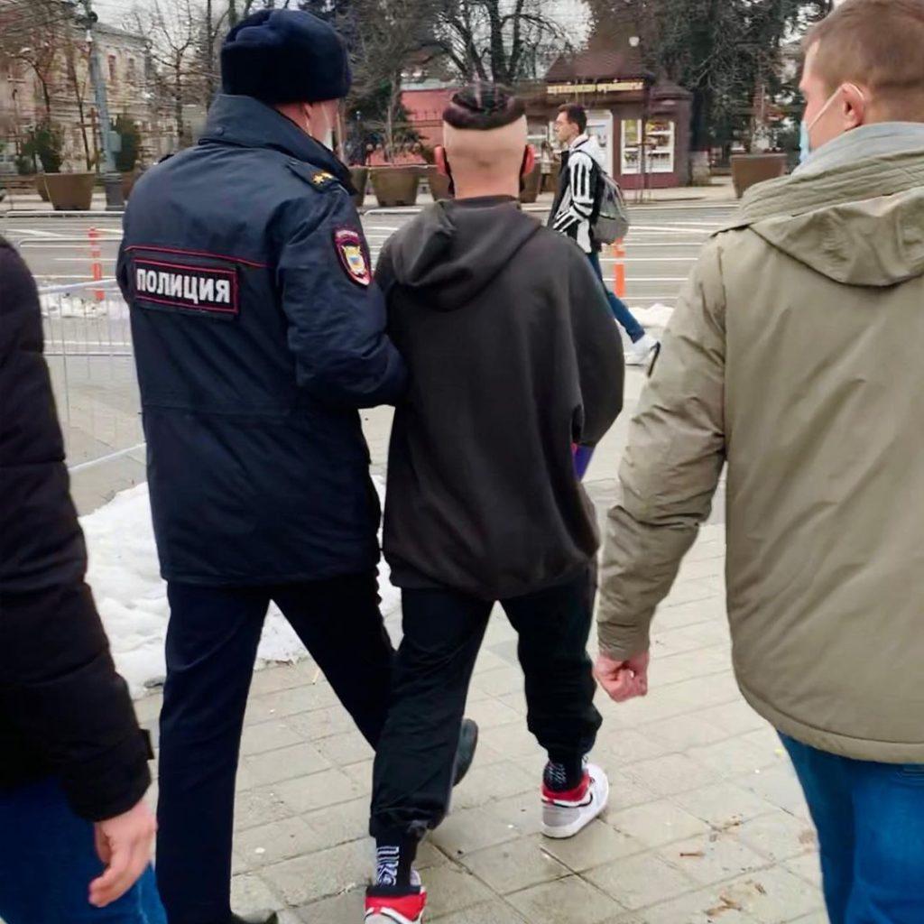 Даня Милохин угодил в полицию в Краснодаре