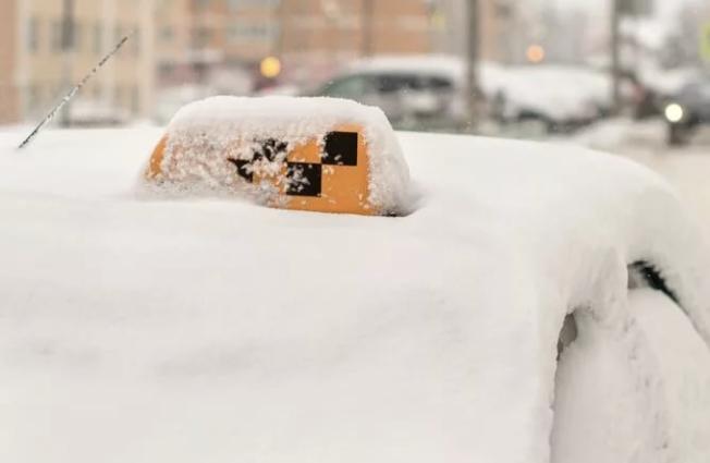 Ставропольские таксисты хорошо заработали в дни снегопадов