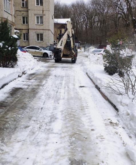 «Управляйкам» в Ставрополе грозит штраф за плохую уборку снега во дворах