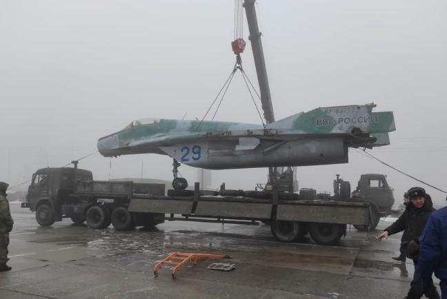 Боевой самолет установят в Невинномысске